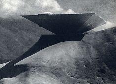 Caracas Museum Concept (1955) by Oscar Niemeyer    Reblogged via Stumblr