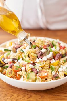 Make a better pasta salad for picnic season with these 5 tips.