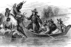 Colonial Rhode Island: Landing at Providence, Rhode Island American Revolutionary War, American War, Native American History, Early American, Massachusetts Bay Colony, Rhode Island History, Freedom Of Religion, History Images, Church History