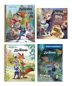Love this Zootopia Little Golden Book & Reader Set by Pixar on #zulily! #zulilyfinds