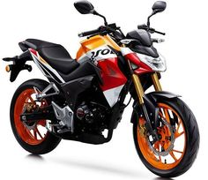 Honda has launched 2 all-new motorcycles namely CB190R & CBF190R. Repsol Livery