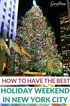 Things To Do In Nyc At Christmas To Create A Trip Of A Lifetime Nyc Christmas Nyc Vacation New York City Vacation
