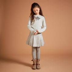 Outfit idea for Clara.  #ilovegorgeousfaves  Haggis Skirt - Multi - AW15 GIRLS PREVIEW - Gorgeous World