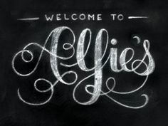 Welcome to Alfie's  by Teresa Wozniak