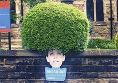 Great way to advertise a hair dressers | Creative and innovative ads