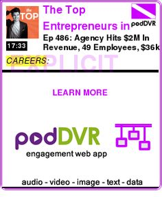 #CAREERS #PODCAST  The Top Entrepreneurs in Money, Marketing, Business and Life    Ep 486: Agency Hits $2M In Revenue, 49 Employees, $36k ACV with RapidBoostMarketing CEO Ali Salman    READ:  https://podDVR.COM/?c=cd0f9e70-cb50-029c-5454-5a8bc9bca4eb