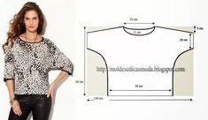 сшить блузку из трикотажа своими руками без выкройки быстро: 10 тыс изображений найдено в Яндекс.Картинках