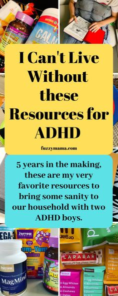 """Our Favorite ADHD Resources - This list has been whittled down to our very favorite, """"I can't live without"""" resources for A - Adhd Odd, Adhd And Autism, How To Sleep Faster, How To Get Sleep, Adhd Quotes, Teen Quotes, Quotes Quotes, Adhd Facts, Adhd Help"""