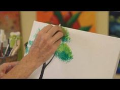 How to Paint with Acrylic Paint: Painting Trees