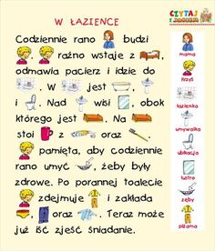 Polish Language, Asd, Coloring Pages, Crafts For Kids, Teaching, Education, School, Speech Language Therapy, Poland