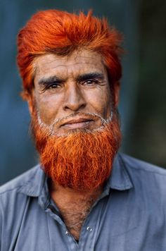 Afghanistan;Yes .. this is the result with henna on gray hair