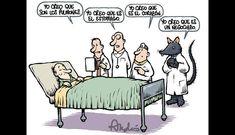 De terror el equipo médico!