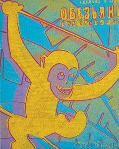 Andy Warhol - Monkey, 1983