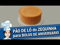 Pão de Ló do Zequinha para Bolos, Naked Cake ou Pasta Americana