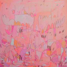 Jennifer Mercede Neon Paintings | inspiration