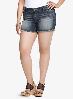 Torrid Skinny Shorts - Dark Wash | Torrid
