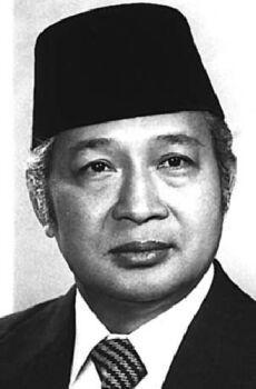 """Haji Mohammad """"Suharto""""  (1921-2008) Político"""