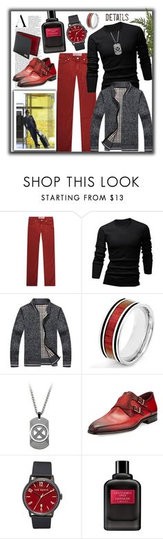 """""""Most Likely to Succeed"""" by prettyinjewels ❤ liked on Polyvore featuring Jacob Cohёn, wizikorea, West Coast Jewelry, Magnanni, Ted Baker, Givenchy and Salvatore Ferragamo"""