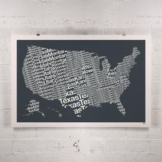 Personalized Scratchoff Us Map The United States Of America A - Large framed us map