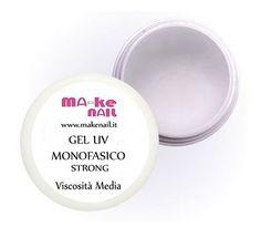 "GEL UV MONOFASICO CLEAR ""STRONG"" 15 ML"