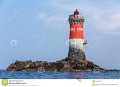 Faro de los Pierres Noires, Le Conquet, Finisterre, Bretaña.