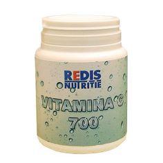 Vitamina C 700 - o cutie contine 120 capsule. Coconut Oil, Vitamin C, Minerals