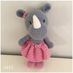 Galna i Garn Amigurumi Doll, Crochet Baby, Hello Kitty, Teddy Bear, Dolls, Knitting, Diy, Character, Animals