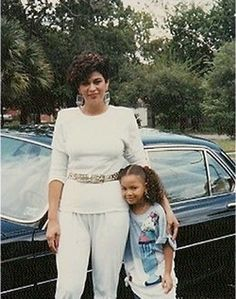 Beyonce and her mom Tina