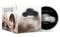 "Visuel CD ""Koumoul du"" Jakez ar Borgn (design Owen Poho)"