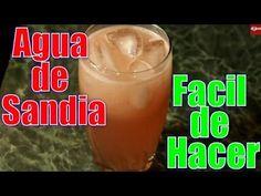 Agua de Sandia,  Facil | Casayfamiliatv ** Casayfamiliatv.com