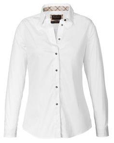 7c637b2eb6ab68 Barbour Bluse Creran (weiß) - Blusen - Bekleidung - Damenmode Online Shop -  Frankonia