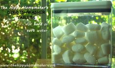 DIY Dishwasher Tablets For Hard or Soft Water (and homemade Lemishine) - The Hippy Homemaker