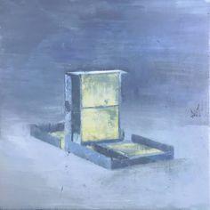 _ pintura figurativa contemporánea : illustrator storyboardista p. Marcel Duchamp, Oil On Canvas, Canvas Art, Canvas Size, Original Paintings, Original Art, Barcelona, Museum Of Contemporary Art, Conceptual Art