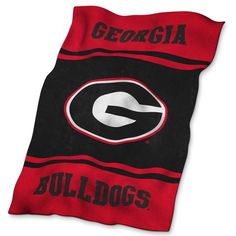 NCAA Georgia Bulldogs UltraSoft Blnkt