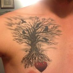 The Meaning of Tree Tattoos | TatRing Sun Tattoos, Tatoos, Tree Tattoos, Tree Tattoo Meaning, Tree Tattoo Designs, Tatting, Meant To Be, Flowers, Beautiful