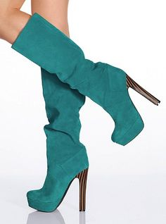 Suede Slouch Boot - Colin Stuart - Victoria's Secret. LOVE! Can't wait to wear them!!