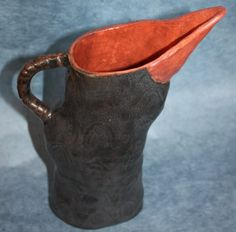 Black Raven Ceramic Stoneware Pitcher  Inspired by by ZenCeramics, $75.00