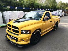 Hot Rod Trucks, Mini Trucks, Ram Trucks, Dodge Trucks, Cool Trucks, Dodge Ram Srt 10, Dodge Ram Pickup, Dropped Trucks, Lowered Trucks