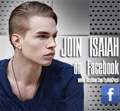 """Have you """"liked"""" Isaiah on Fb yet to get his notifications & updates about his music?  Click here - www.facebook.com/IsaiahGrass"""