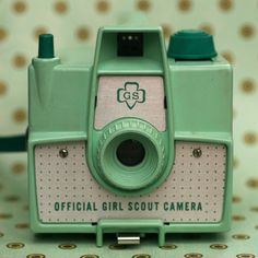 Girl Scout Camera - Official! I wasn't a girl scout but thought some of my followers might like this. :)