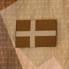 TAC-UP GEAR - 0071 Sweden Flag Subdued Desert