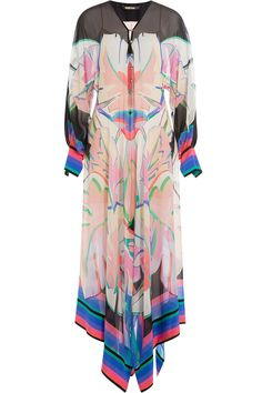 Roberto Cavalli - Printed Silk Maxi Dress