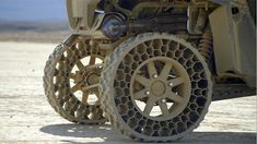 Off-Road Flat-Proof 'Airless' Tires 4x4, Pirelli, Mercedez Benz, Bug Out Vehicle, Expedition Vehicle, Cool Technology, Off Road, Survival Gear, Concept Cars