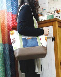 DIY Canvas Tote Bag ~