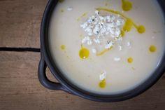 Garlic Cauliflower Soup