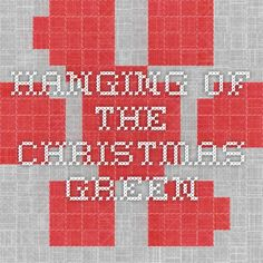 30 Best Worship Hanging Of The Greens Images Christmas Crafts