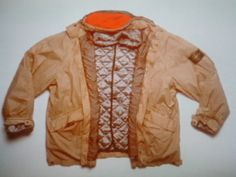 Stone Island Ice Jacket photographed from Massimo Osti with closed circuit television cameras. First system used by Massimo Osti to digitize the archive before the advent of digital cameras.