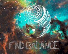 gif space universe yin yang Balance yin and yang tomaspachec •