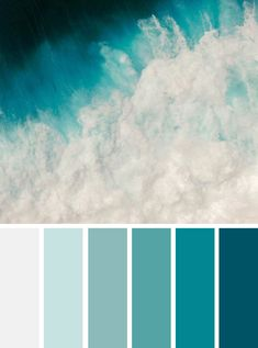 Green ocean color scheme , winter color palette - Find beautiful and inspiring color palettes , blue color palette, navy blue ,green ,mint emerald etc. for your home decor or wedding color theme, these 1000s color palette you've never seen it before...