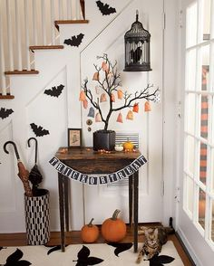 Create a stylish Halloween home - Style At Home>>>Shelley Wolson